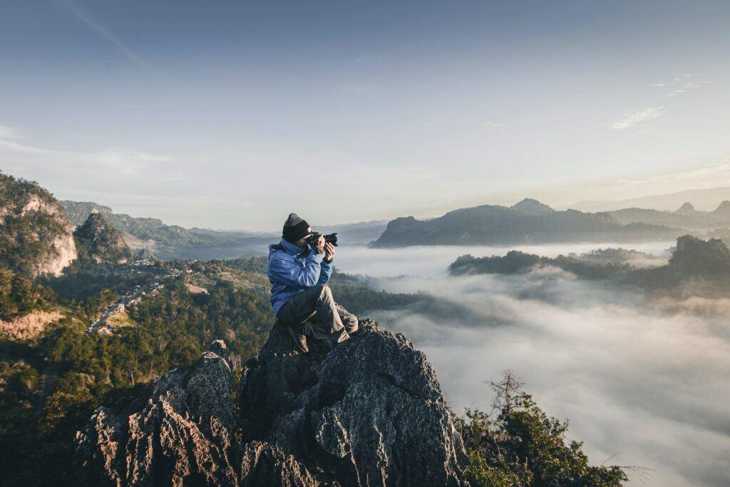 Photographer on a Hill