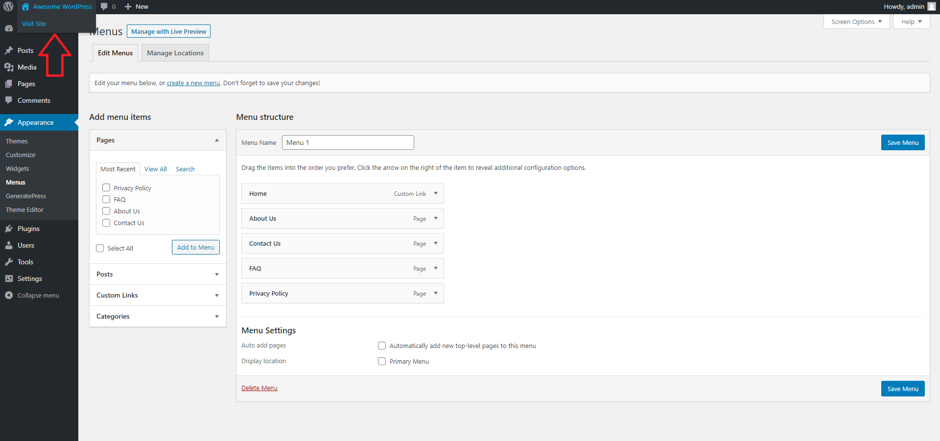 How to Preview Changes to WordPress Settings