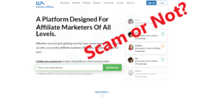 Is Wealthy Affiliate a Scam or Not